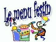 Le menu festin